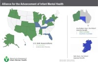 Alliance for the Advancement of Infant Mental Health map